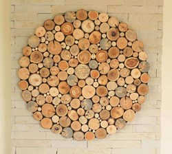 صورة Wood Slice Wall Art