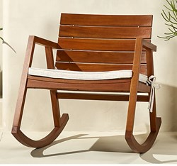 صورة Rocking Chair With Cushion