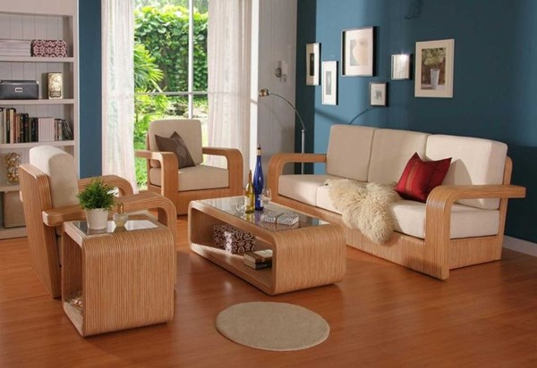 Picture of Wooden Sofa