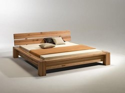 صورة Simple Wooden Bed