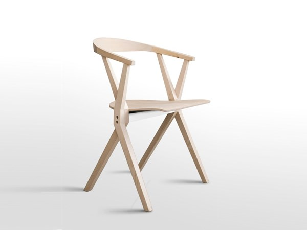 صورة Folding wooden chair