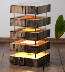 Picture of Wooden Lamp Designs